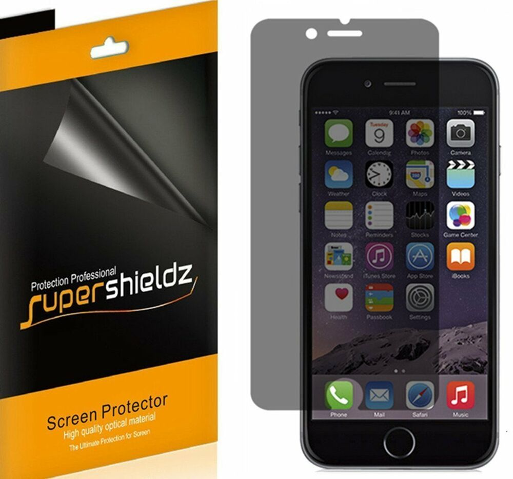iphone 6 screen protector 2x supershieldz privacy anti screen protector for 15075