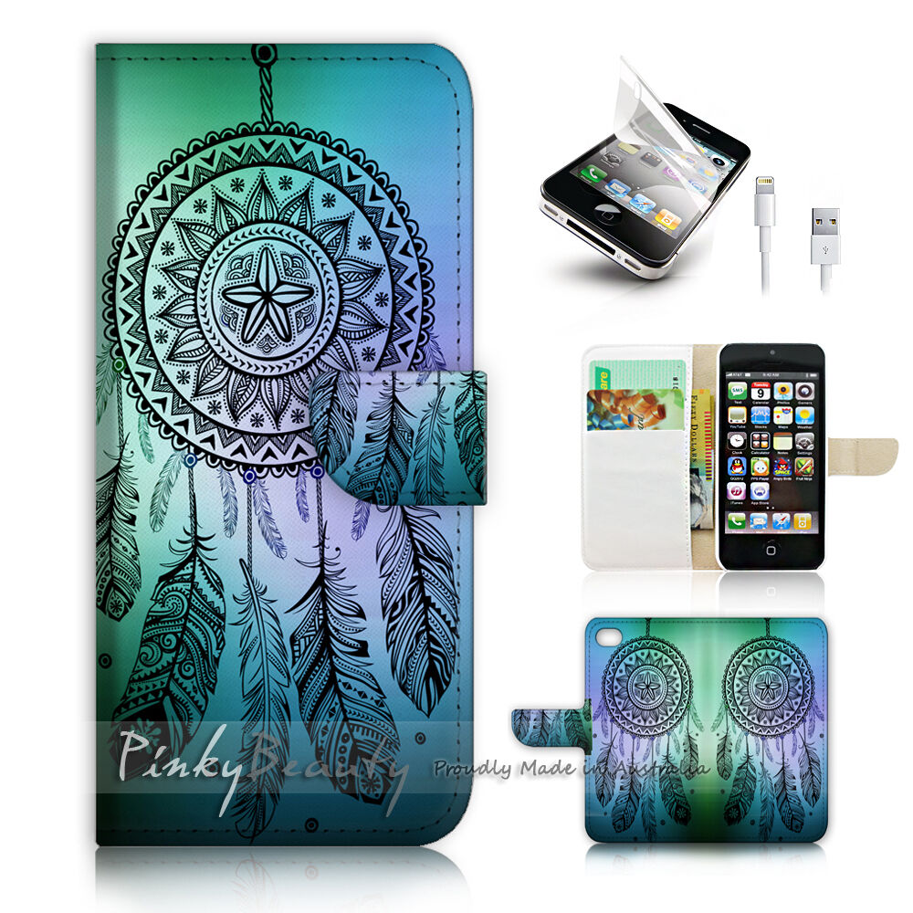 iphone printer case iphone 5c print flip wallet cover catcher 5234