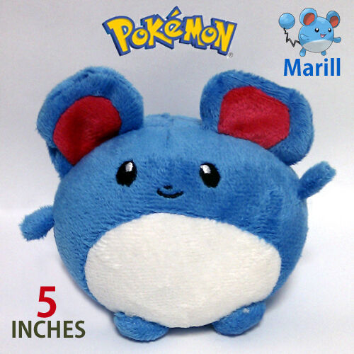 Marill Pokemon Water Fairy Plush Toy Maril Mouse from ...