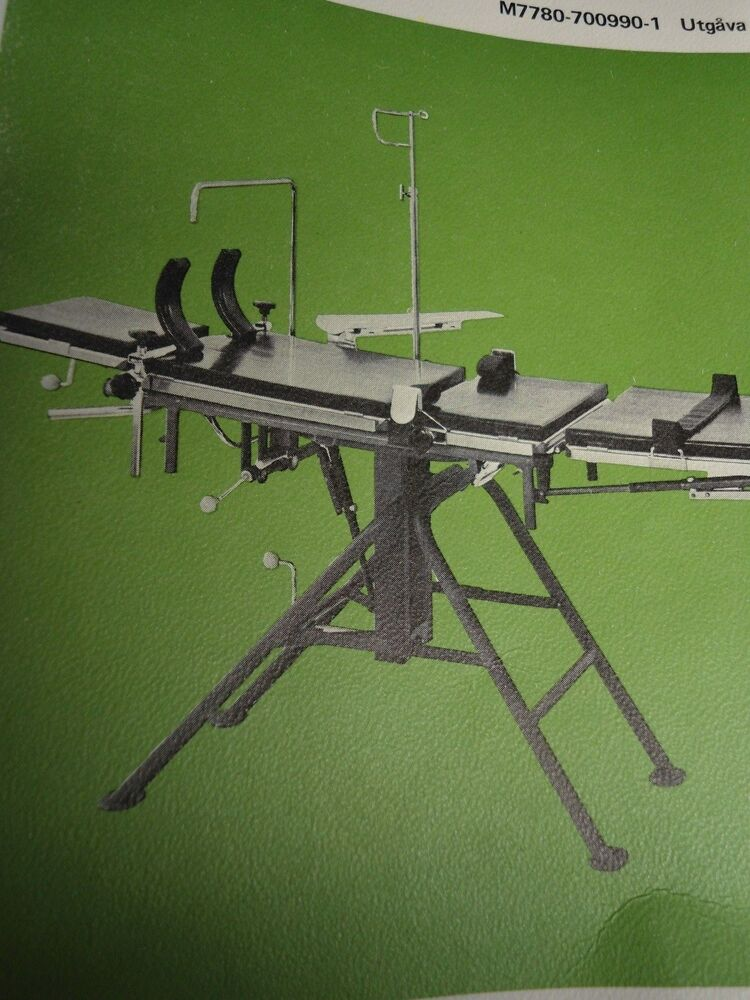 Swedish Military Portable Operating Table Ebay