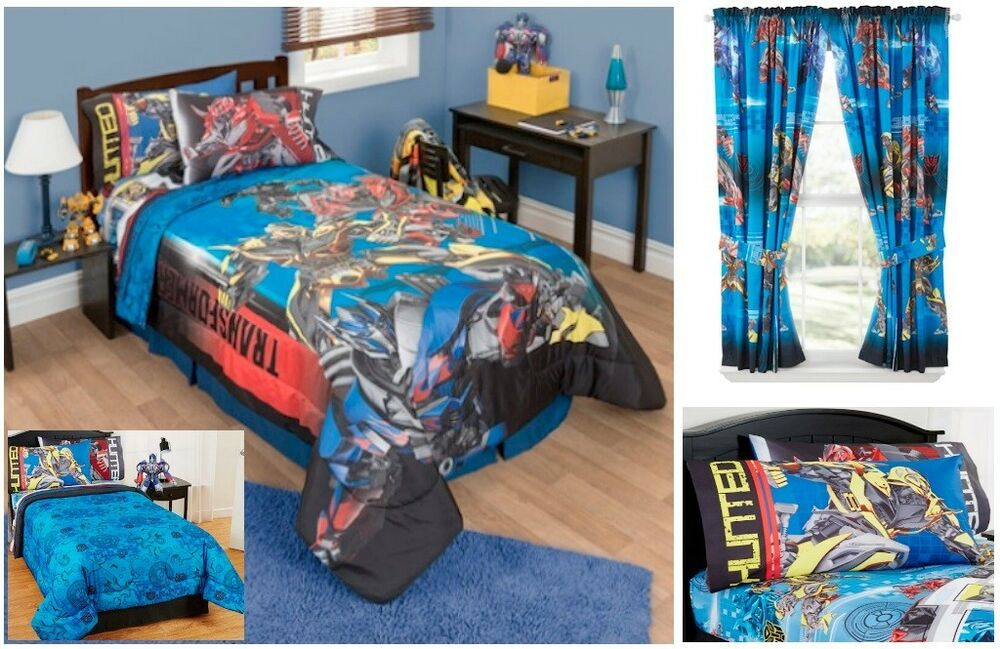 New Kids Boys Transformers 4 Bedding Bed In A Bag