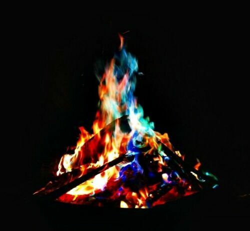 25g Magical Fire Colorful Flames Rainbow Bonfire Camping