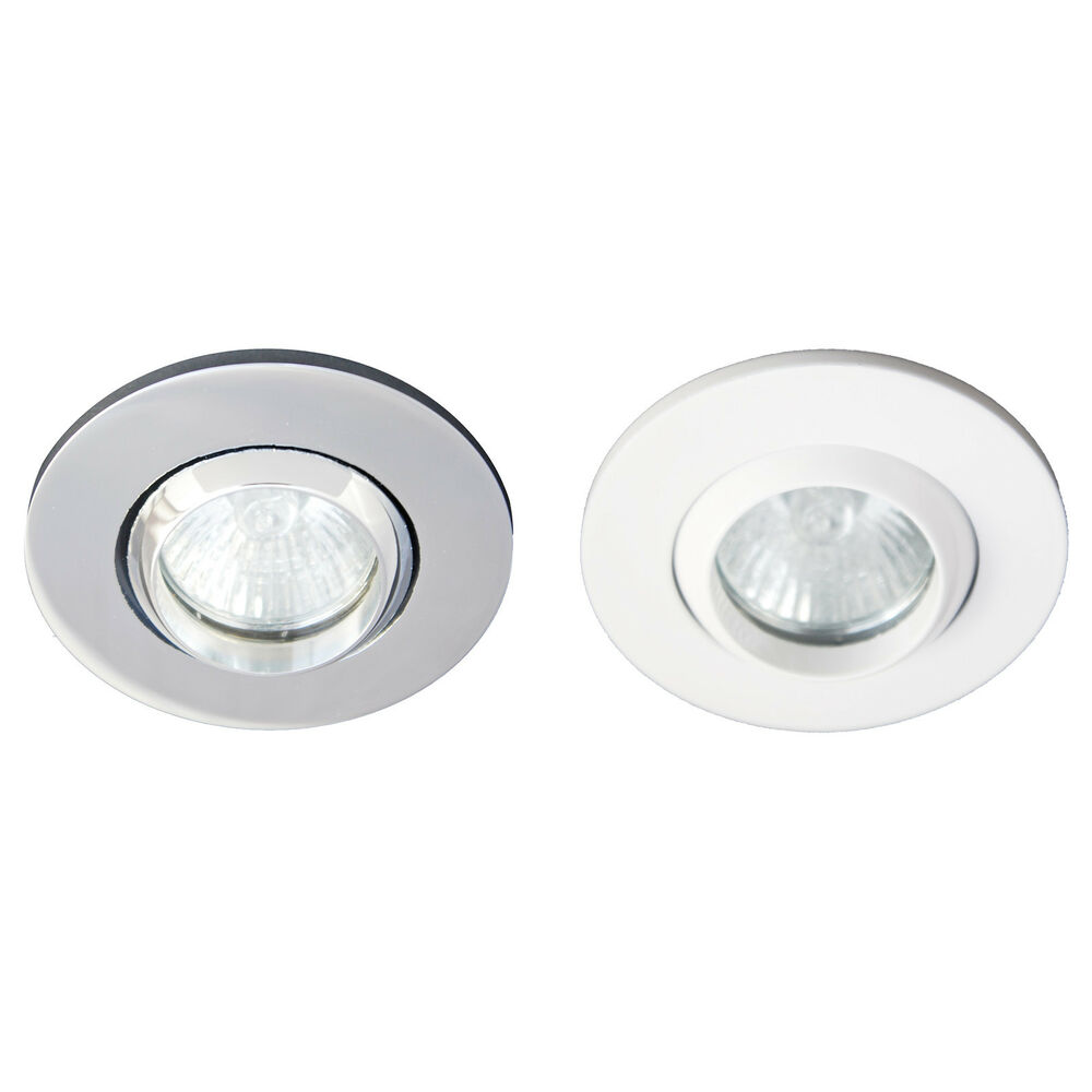 ip65 adjustable tilt bathroom shower downlight spot light gu10 240v halogen led ebay. Black Bedroom Furniture Sets. Home Design Ideas