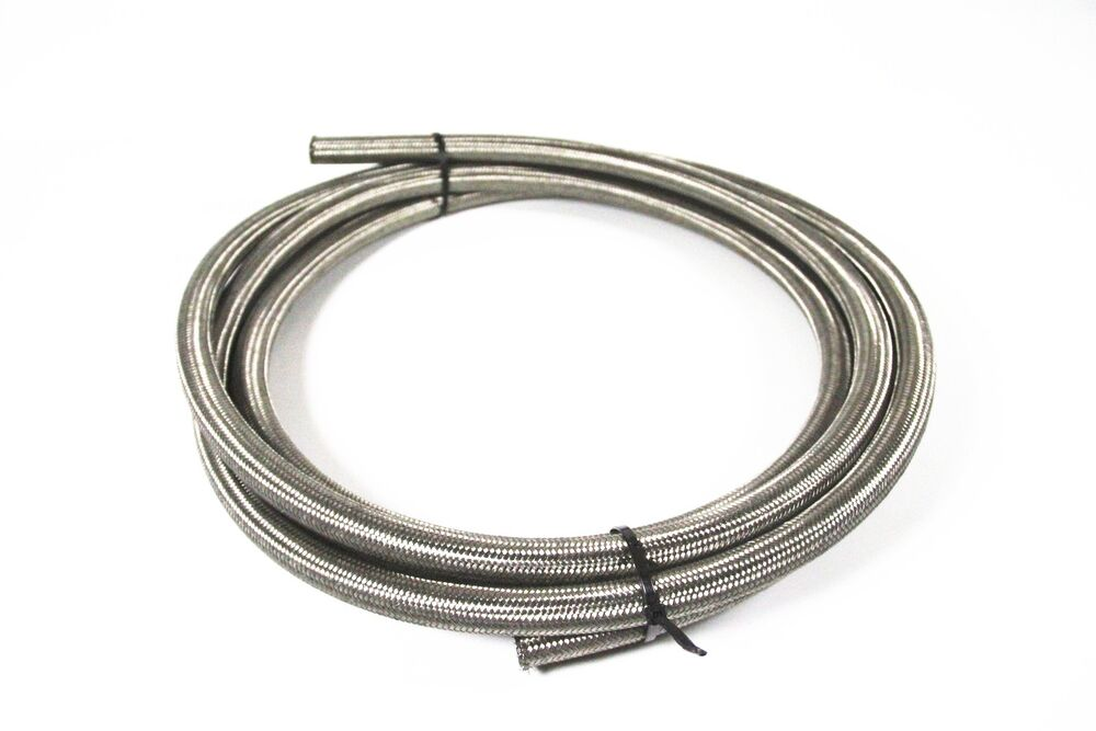 Braided Coolant Lines : An mm quot stainless steel braided fuel coolant oil