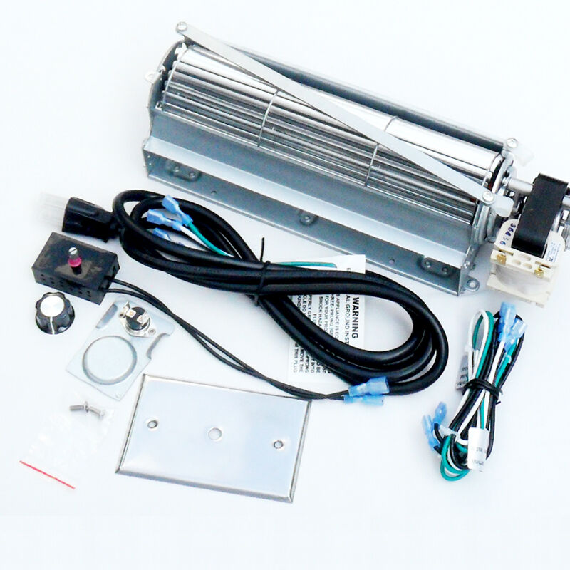 Universal Blower Fan Kit Motor At Right For Stove Or