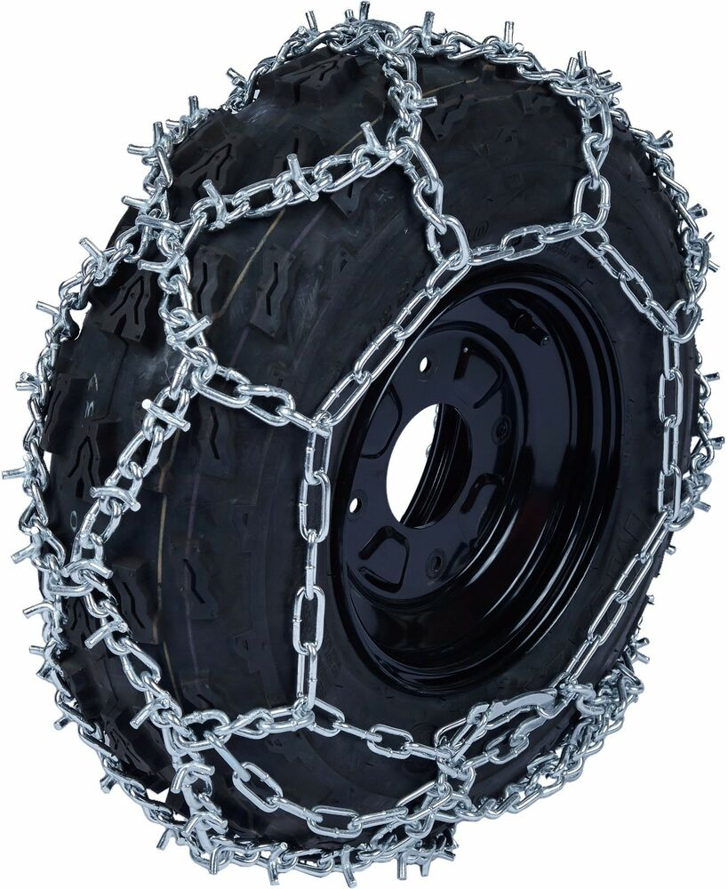Atv Tire Chains : Quality chain atv dba mm u grip link tire chains snow