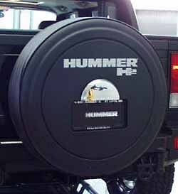 2005 09 hummer h2 sut rigid tire cover w plate mount. Black Bedroom Furniture Sets. Home Design Ideas
