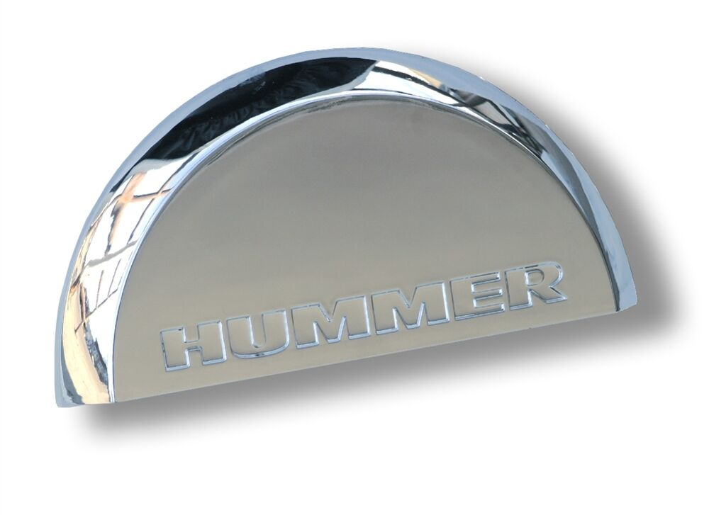 2007 2008 hummer h2 sut rear chrome center dome with logo ebay