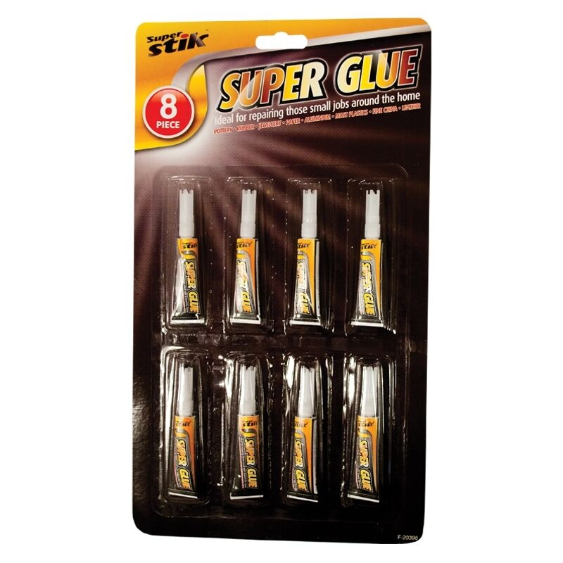 8 pack quality super glue extra strong superglue for for How strong is acrylic glass