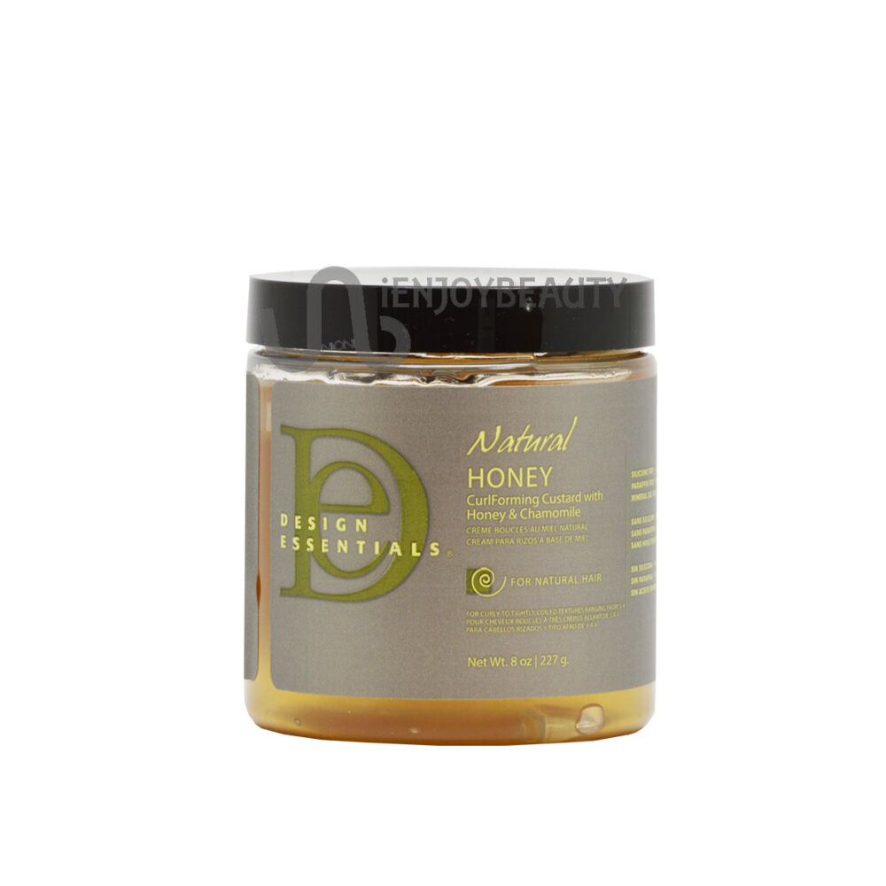 Design Essentials Natural Honey Curl Forming Custard 8 Oz