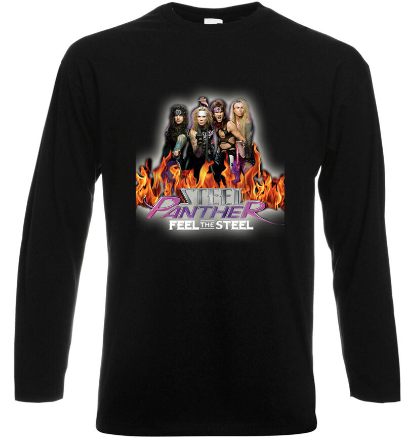 New The Steel Panther Metal Rock Band Men 39 S Long Sleeve