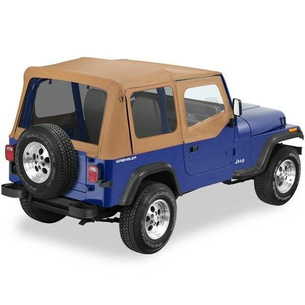 Pavement Ends Replay Top 88-95 Jeep Wrangler YJ Tinted W