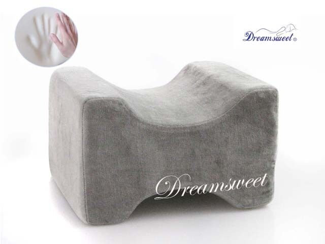 knee hip alignment memory foam leg pillow aid for side sleepers dreamsweet a6gx ebay. Black Bedroom Furniture Sets. Home Design Ideas