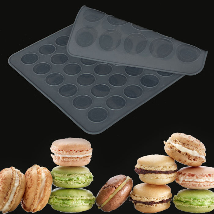 Double Sided Macaroon Silicone Macaron Cake Mould Baking ...