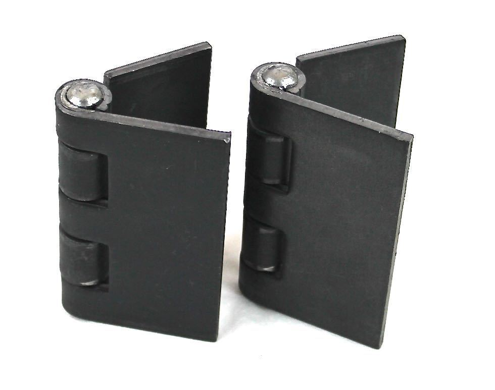 Heavy Duty Weldable Pair 4 Quot X 4 Quot Gate Hinges Steel Butt