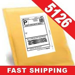 800 half sheet internet shipping labels for ebay usps ebay for Half page shipping labels