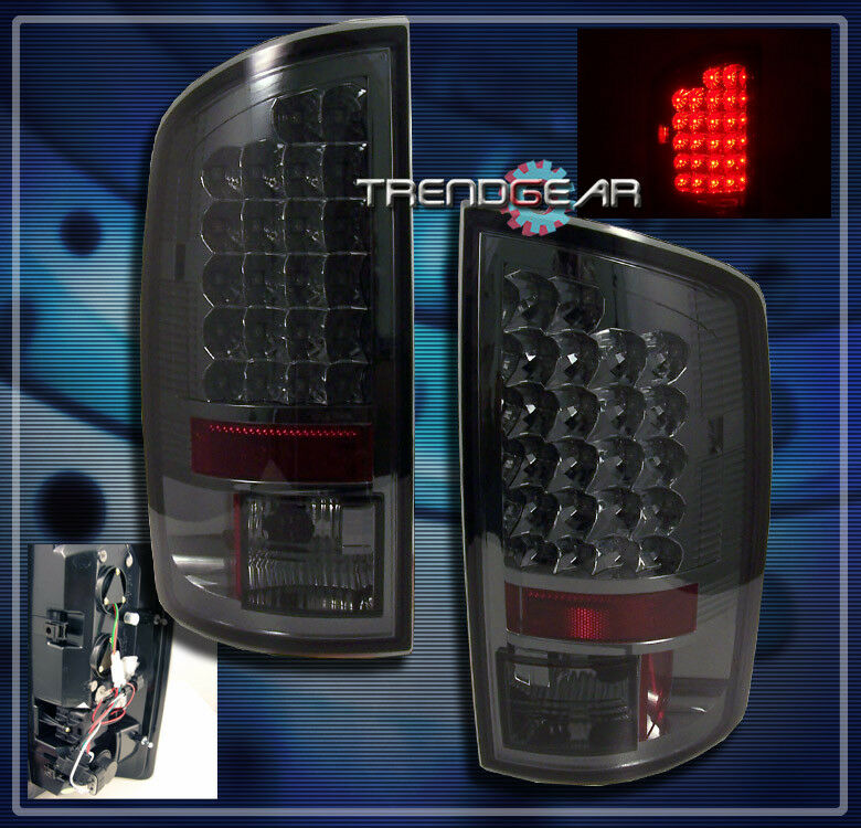 2007 2008 dodge ram 1500 2007 2009 2500 3500 truck led tail light lamp. Black Bedroom Furniture Sets. Home Design Ideas