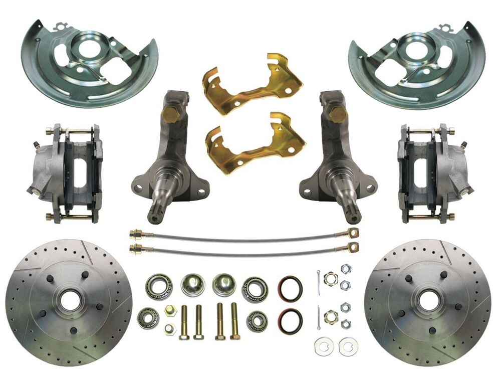 1964 1972 Chevrolet Disc Brake Kit Chevelle Nova Camaro