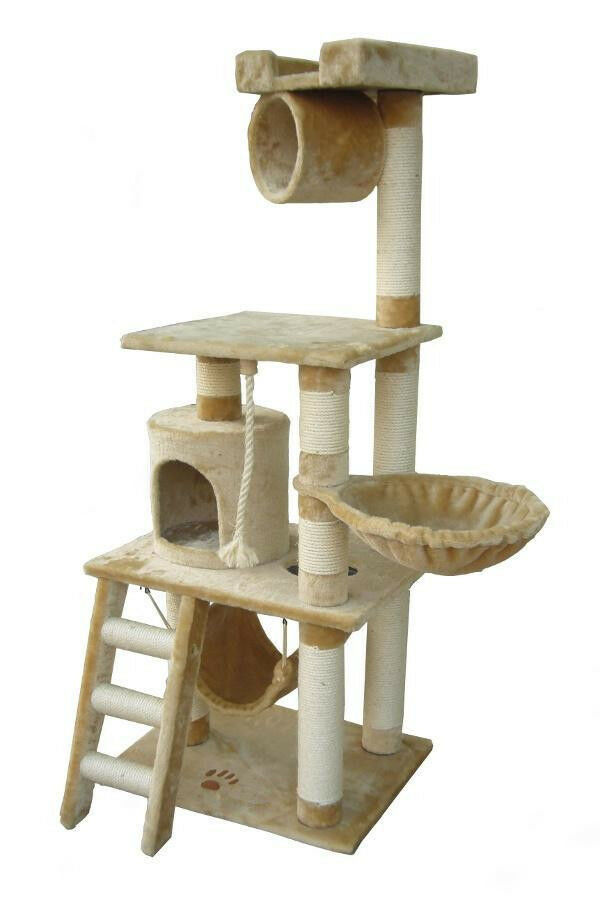 unique 62 cat tree condo scratching post kitty home