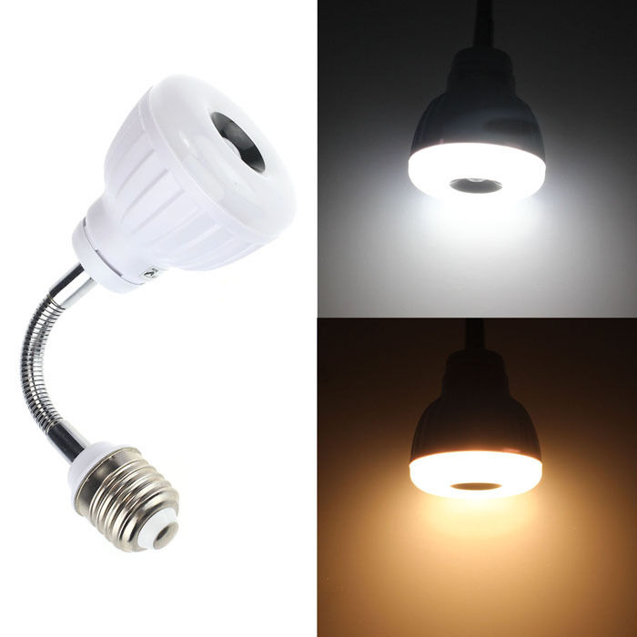 ac 110v 220v e27 5w led pir infrared sensor motion detector lamp light ebay. Black Bedroom Furniture Sets. Home Design Ideas