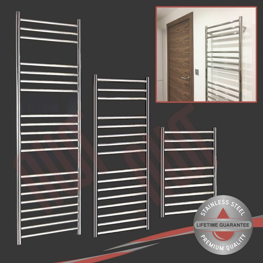 Stainless Steel Heated Towel Rail Radiator: Quality Polished Stainless Steel Heated Towel Rails