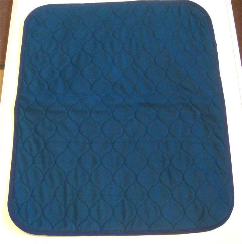 1 Of Large Blue Washable Wheelchair Seat Armchair Incontinence Pad Sheet Ebay