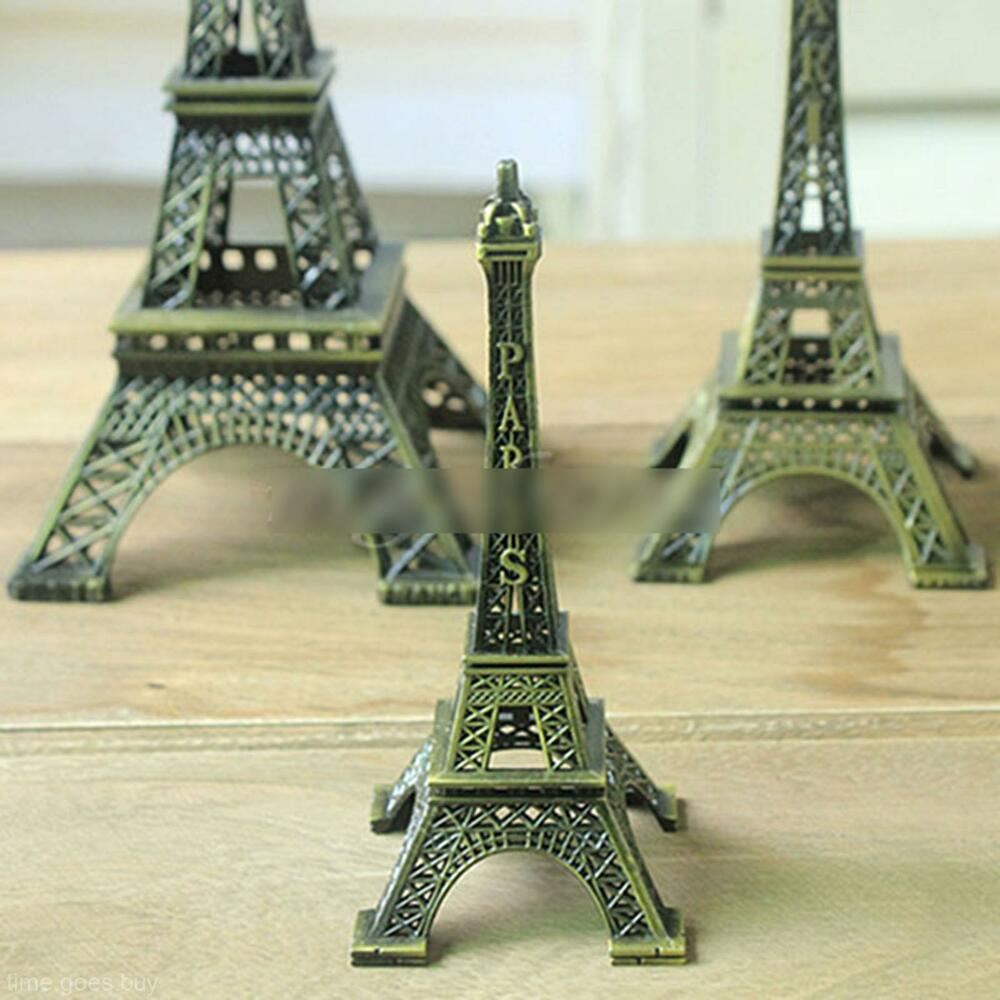 2016 retro paris eiffel tower design statue figurine party for Eiffel tower decorations for the home