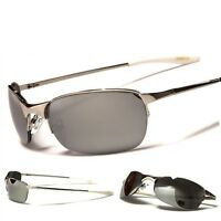 Xloop Classic Sporty Men Sunglasses Black Silver New Fashion Sports Shades Cool