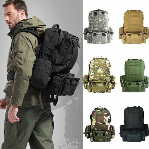 Outdoor Military Tactical Backpack Rucksacks Sports