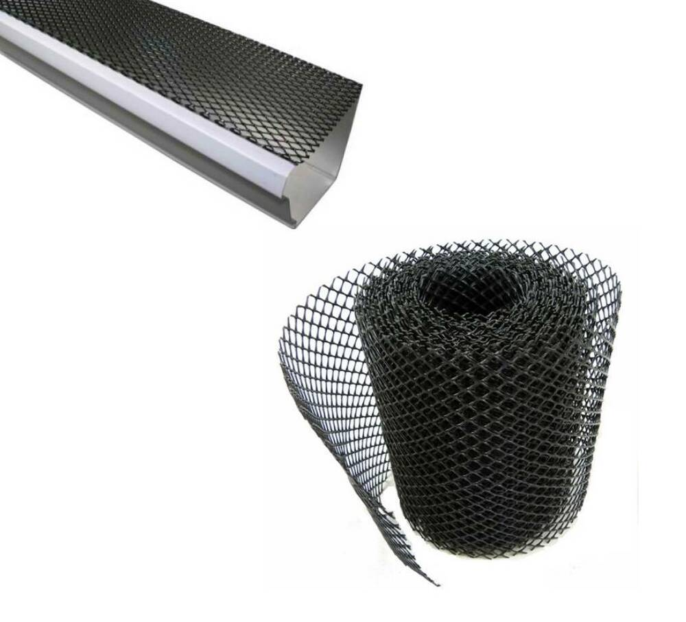 Gutter Guard Mesh Plastic Screen 26 X 7 Quot Stops Leaves And