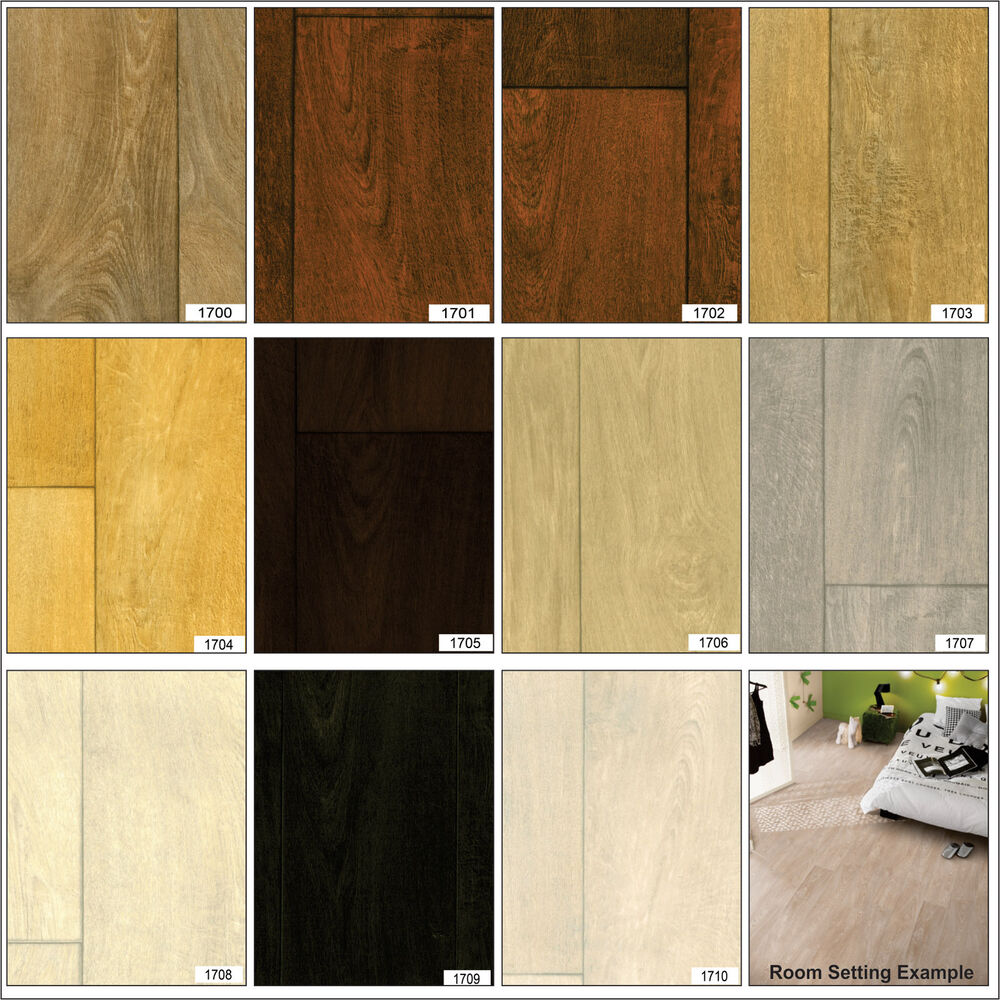 Wood effect anti slip heavy duty vinyl flooring home for Heavy duty vinyl flooring