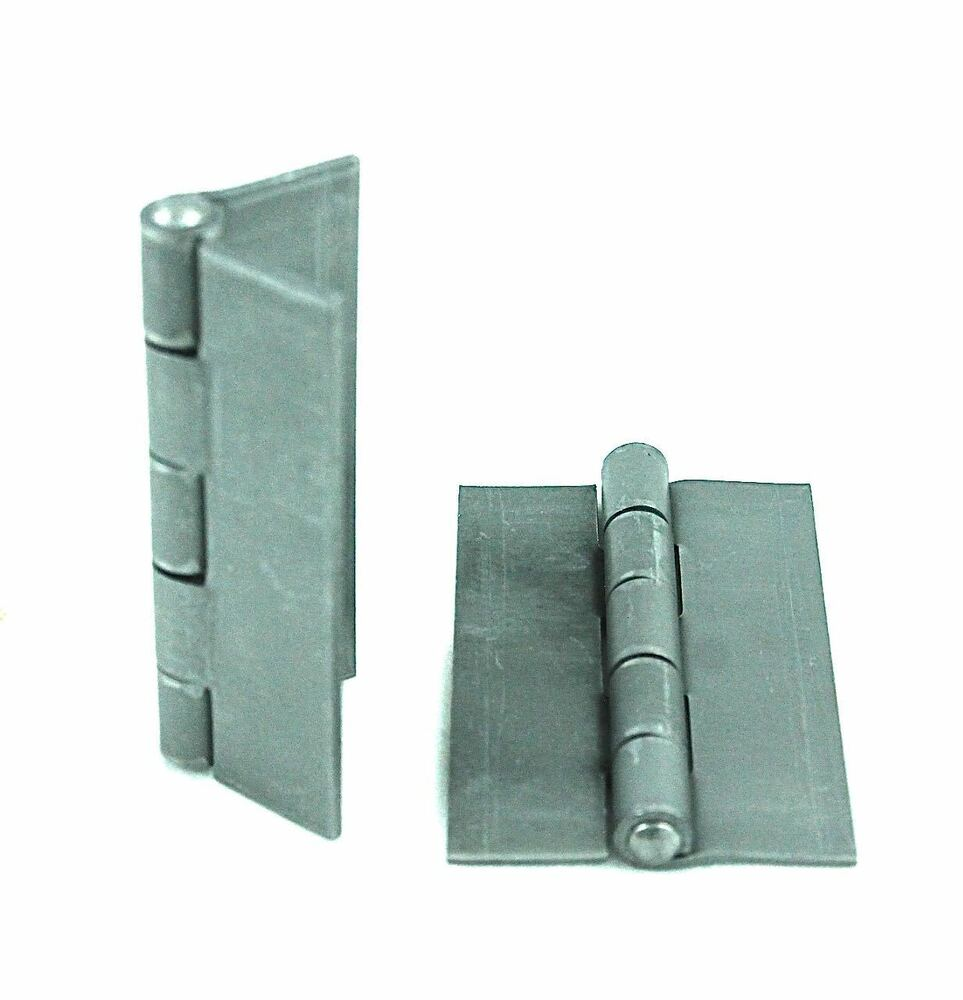 Quot weldable steel butt hinges for pedestrian