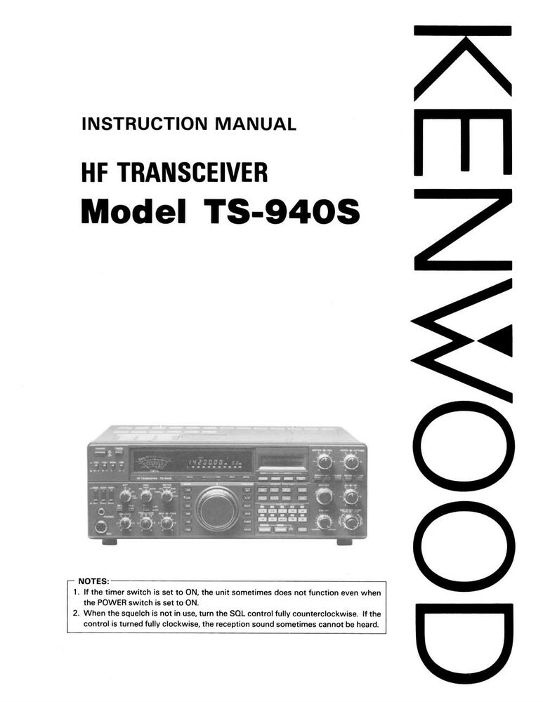 Kenwood Ts 940 Service manual