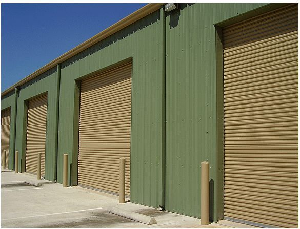 12x10 Commercial 2000 Series Roll Up Door By Dbci W