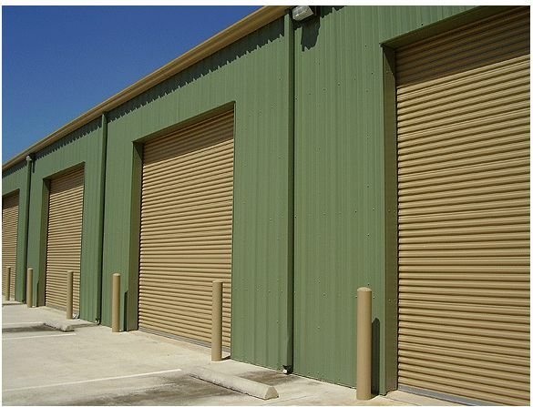 10x10 commercial 2250 series insulated roll up door by