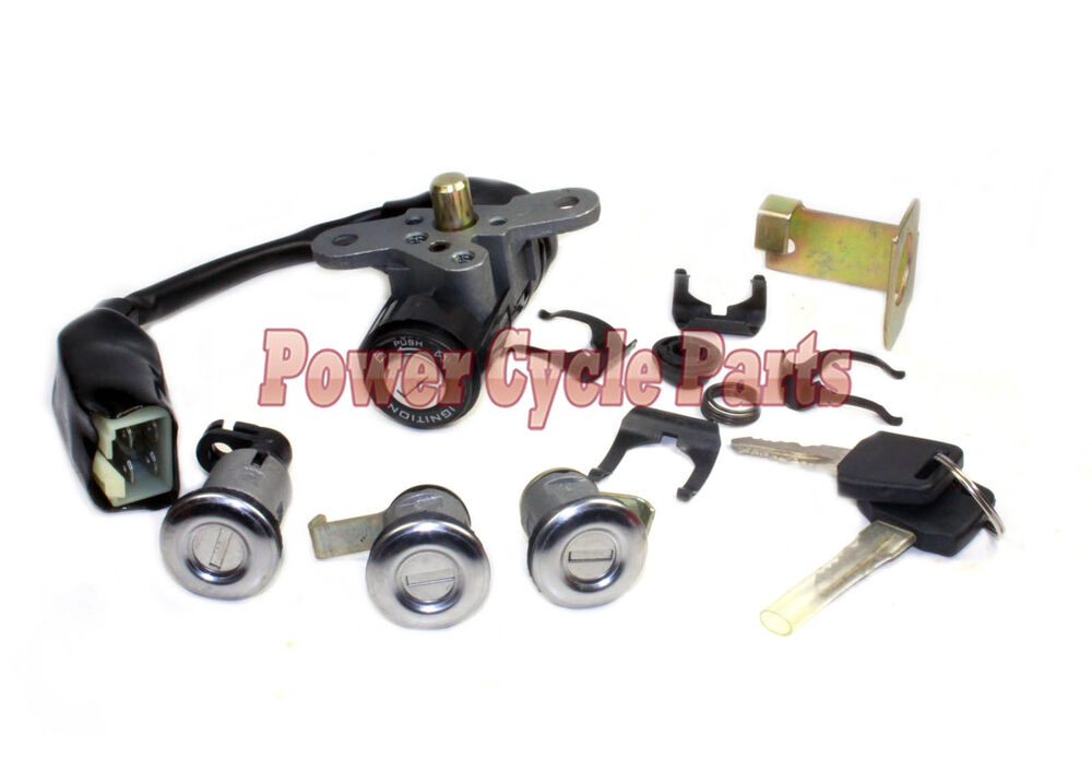 150cc scooter parts 150t 2 ignition lock set chinese. Black Bedroom Furniture Sets. Home Design Ideas