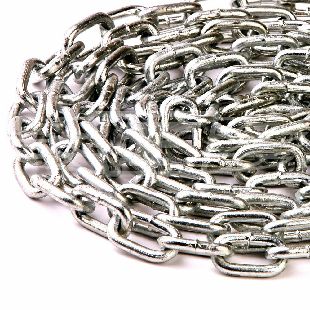 Light Amp Heavy Duty Galvanised Welded Security Chain Links