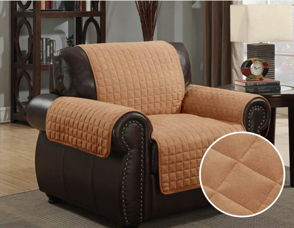 Kashi Home Micro Suede Furniture Pet Protector Couch Sofa