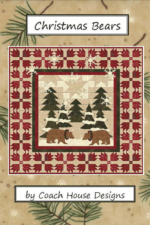 Quilt Pattern Christmas Bears By Coach House Designs