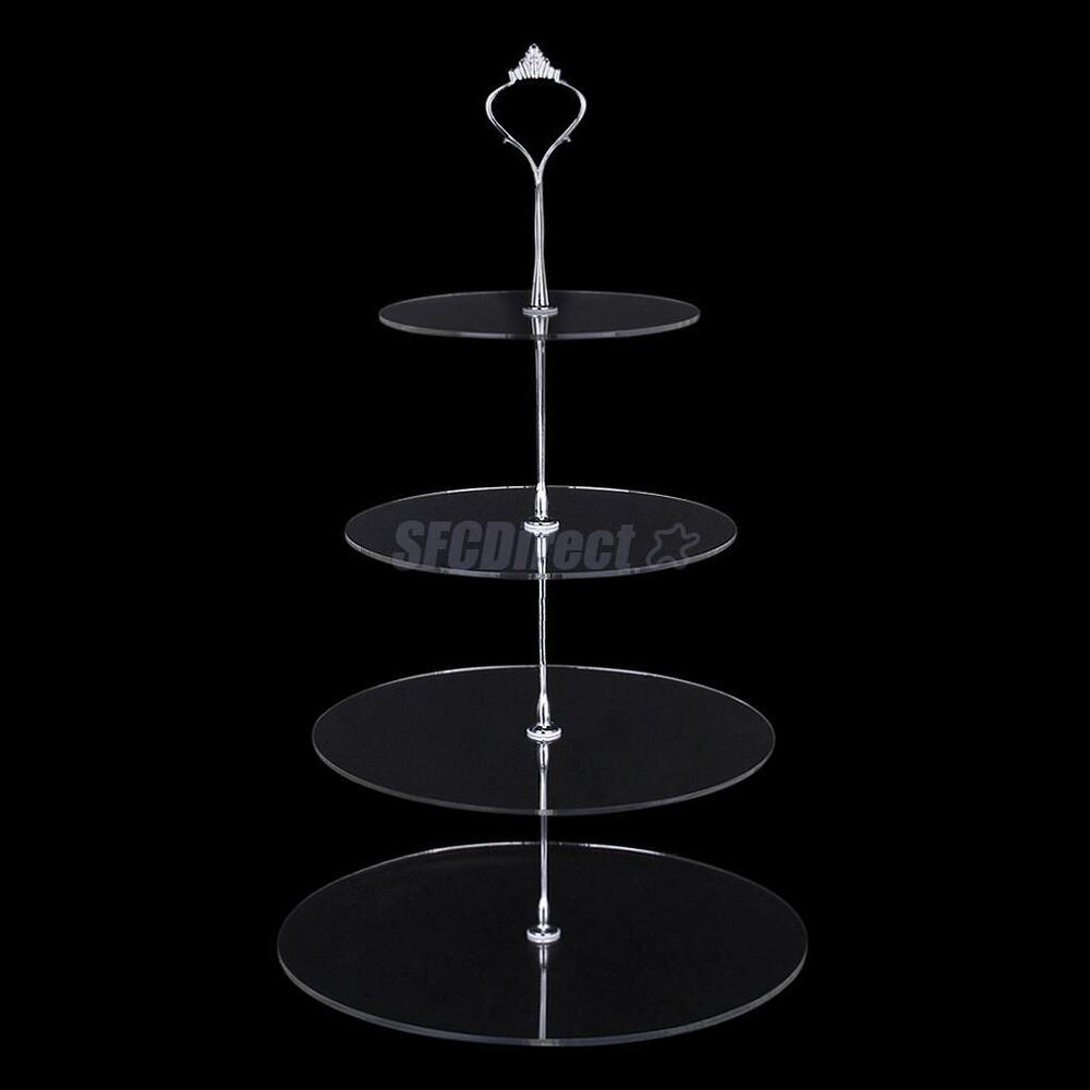 Tier Cake Stand Crystal
