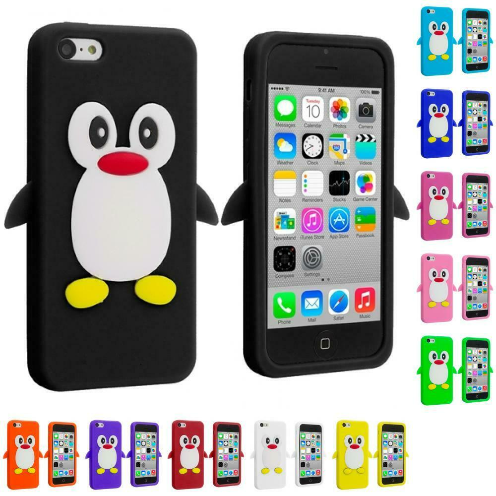 cases for iphone 5c ebay for apple iphone 5c penguin silicone soft rubber 16774
