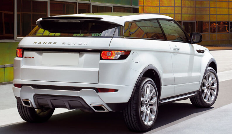 range rover evoque spoiler dynamic look ebay. Black Bedroom Furniture Sets. Home Design Ideas