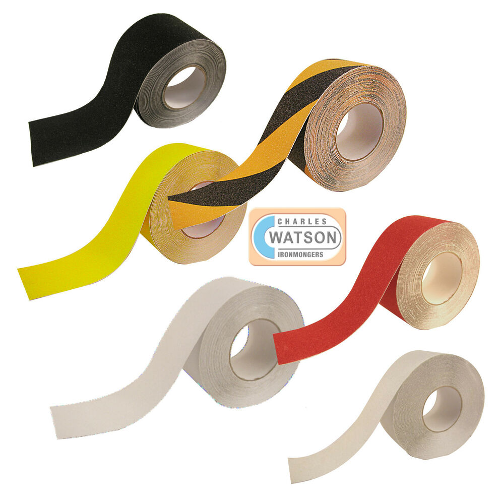 ANTI SLIP TAPE High Grip Adhesive Backed Non Slip Safety