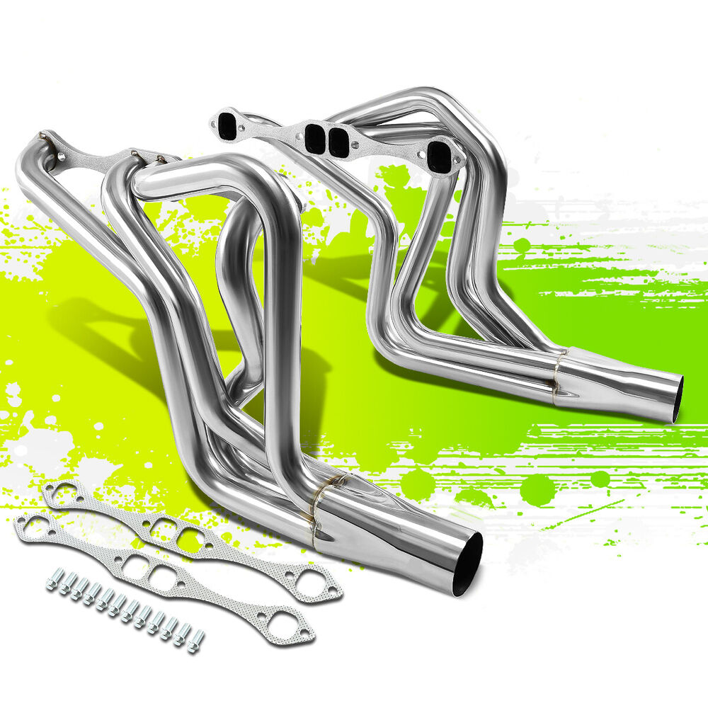 STAINLESS STEEL LONG TUBE EXHAUST HEADER FOR CHEVY SBC 305