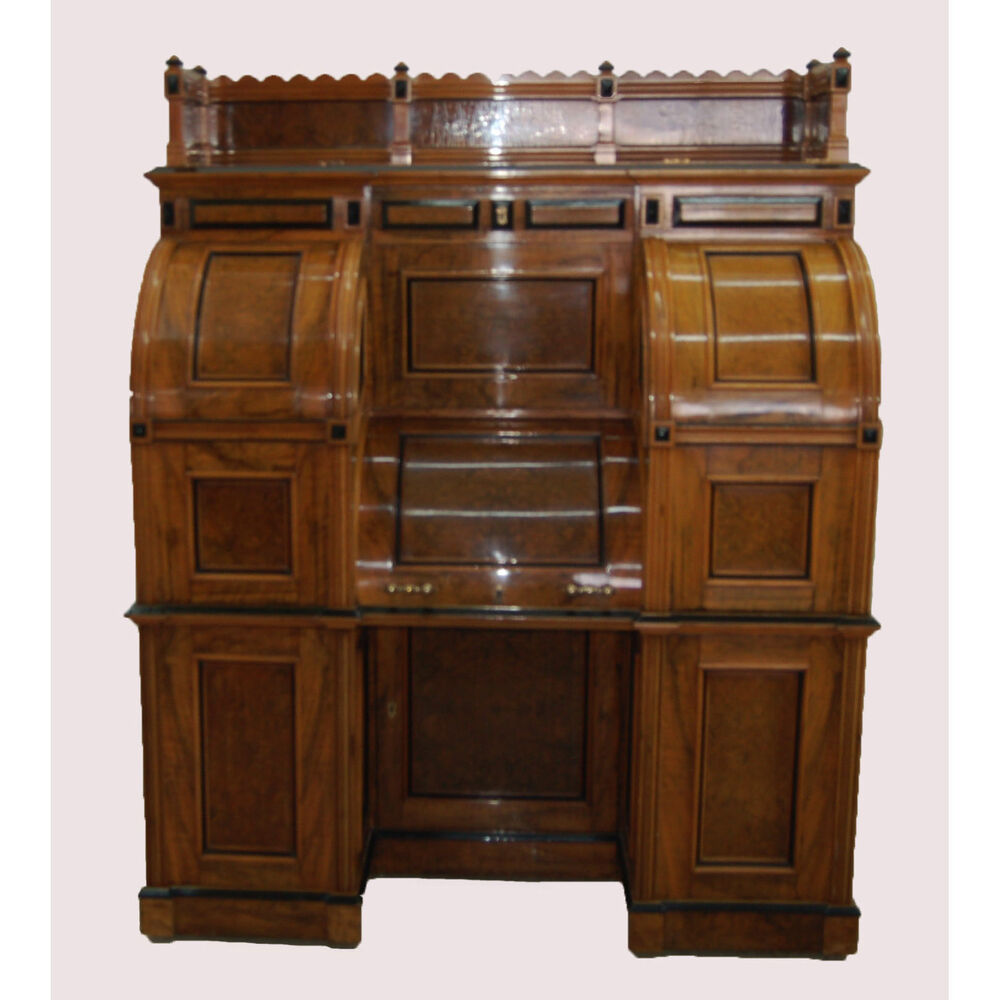 Rare And Important Moore Combination Patent Secretary Desk