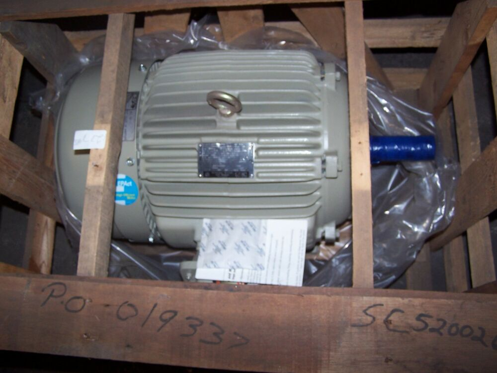New ge 7 5 hp ac electric motor 286t frame 1170 rpm 230 for 5 hp ac motor