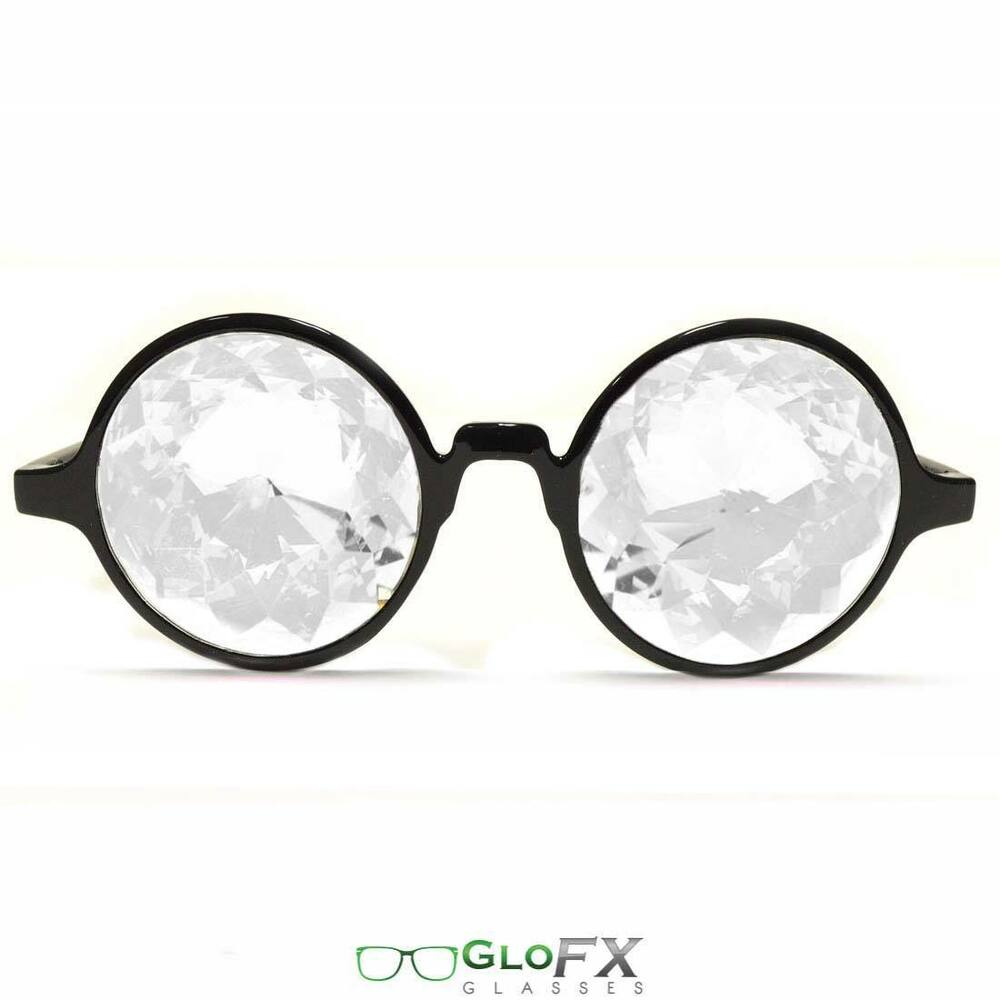 Eyeglass Frames Made In The Usa : Kaleidoscope Glasses Optics Laser Cut Crytal Prism Glass ...