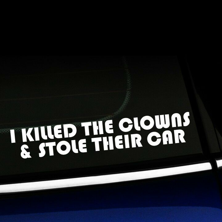 I Killed The Clowns And Stole Their Car Fiat Smart Car