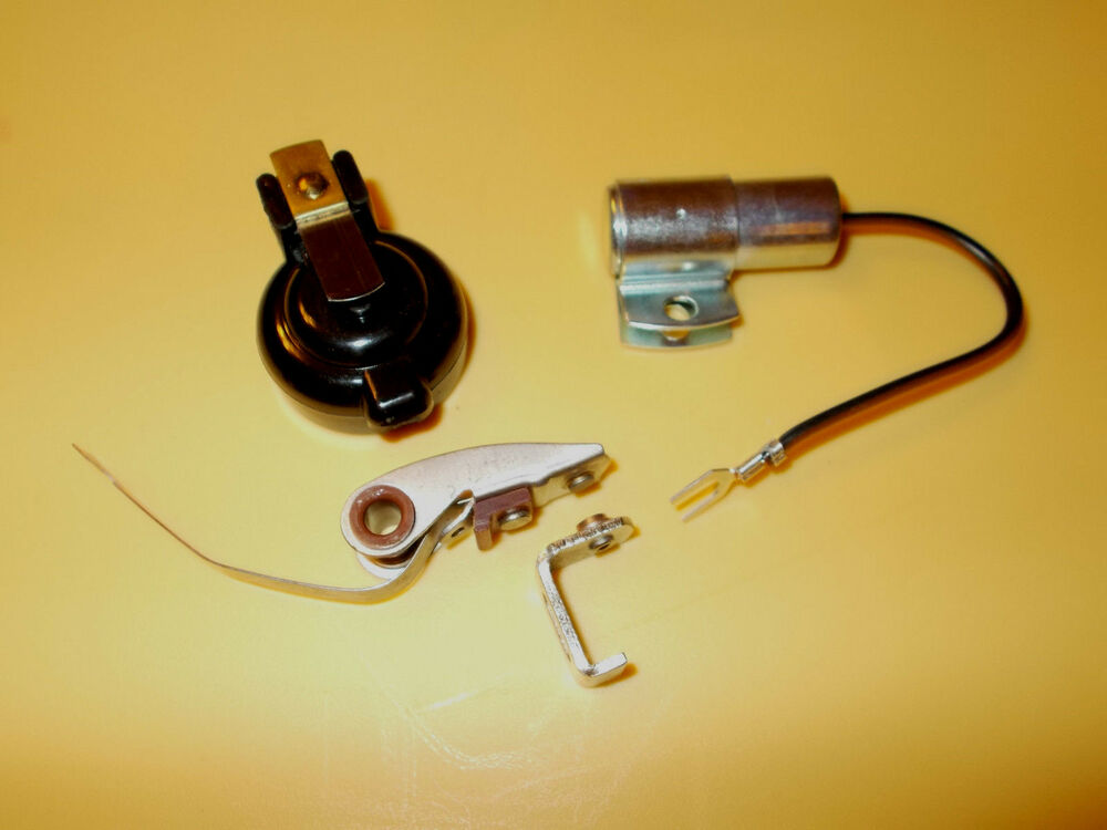 407018r91 Ih Farmall Ignition Kit Points Condeser Rotor