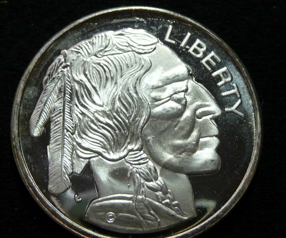 Liberty Buffalo 1 Oz Silver Coin Beautiful Coin Ebay